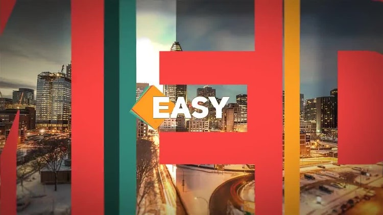 Media Presentation: After Effects Templates
