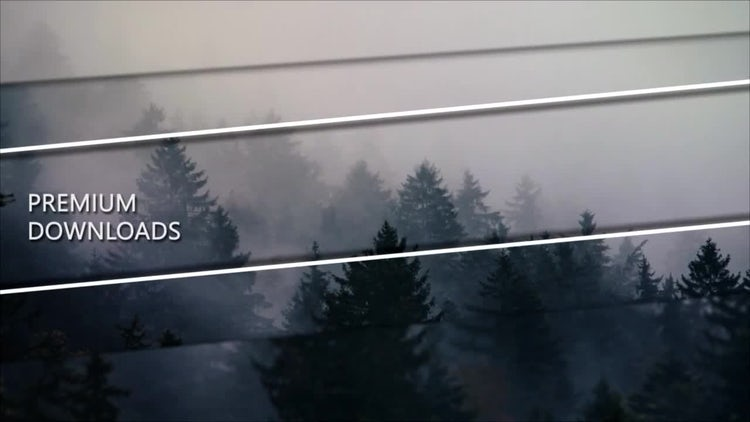 Strokes Parallax: After Effects Templates
