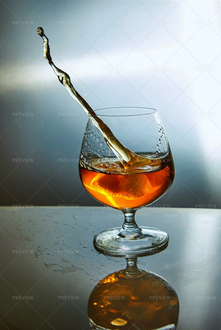 Glass Of Whiskey: Stock Photos