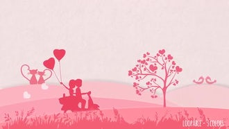Valentine Backgrounds: Motion Graphics