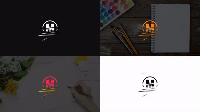 Hand - Drawing Logo: After Effects Templates