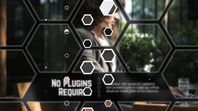 Hexagon Corporate: After Effects Templates