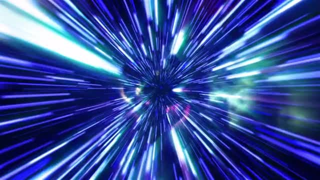Space Tunnel Background: Stock Motion Graphics