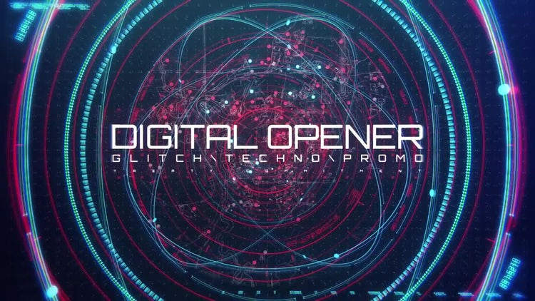 Digital Opener - Technology Trailer: After Effects Templates