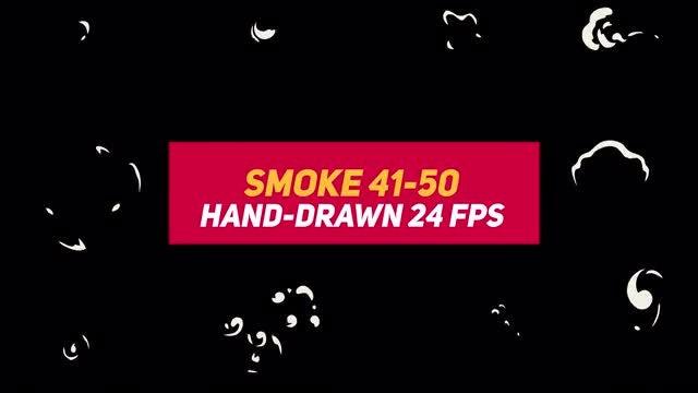 Liquid Elements Smoke 41-50: Stock Motion Graphics