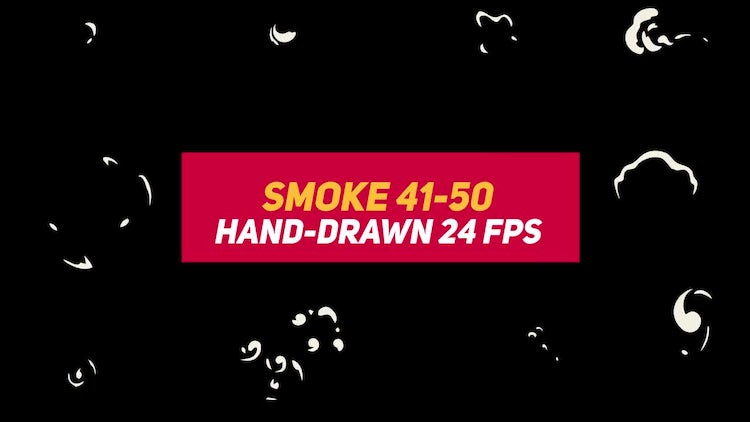 Liquid Elements Smoke 41-50: Motion Graphics