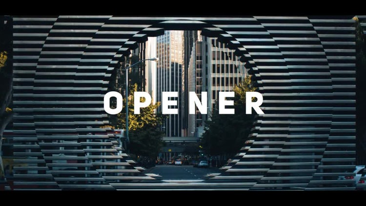 Motion Stomp Opener: After Effects Templates