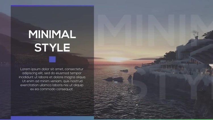Minimal Slides 2: After Effects Templates