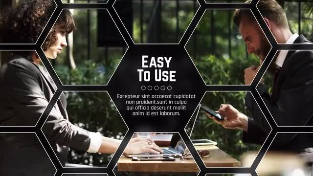 Hexagon Corporate: Premiere Pro Templates