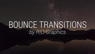 14 Bounce Transitions: Premiere Pro Templates