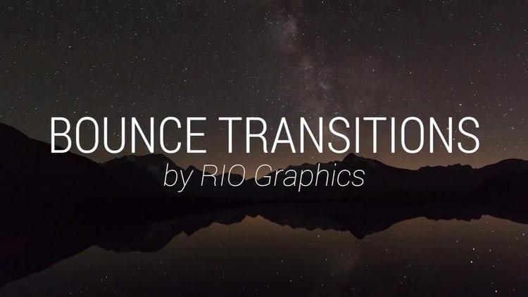 14 Bounce Transitions: Premiere Pro Templates