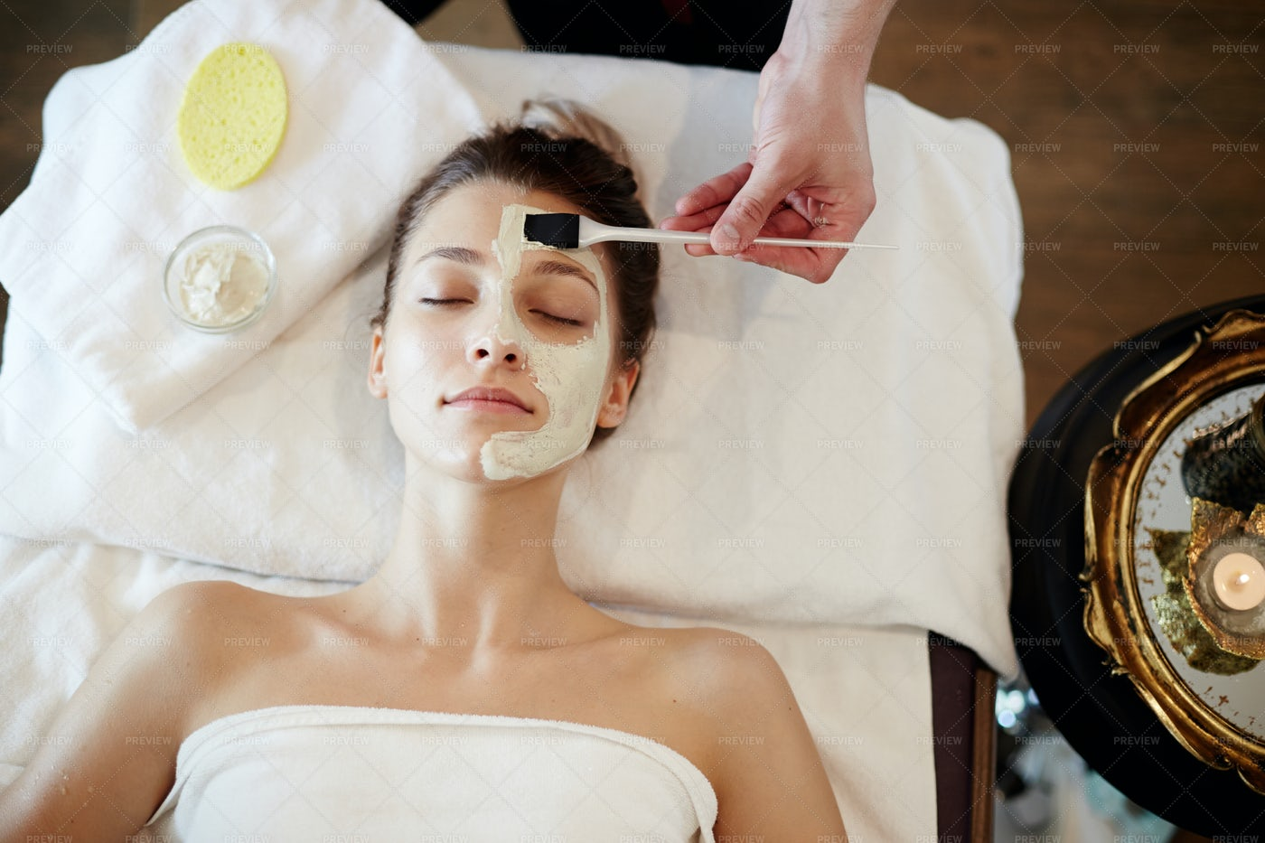 Skincare In SPA: Stock Photos
