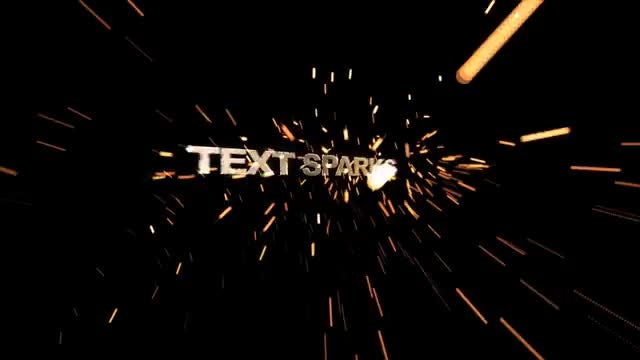 Text Sparks: After Effects Templates