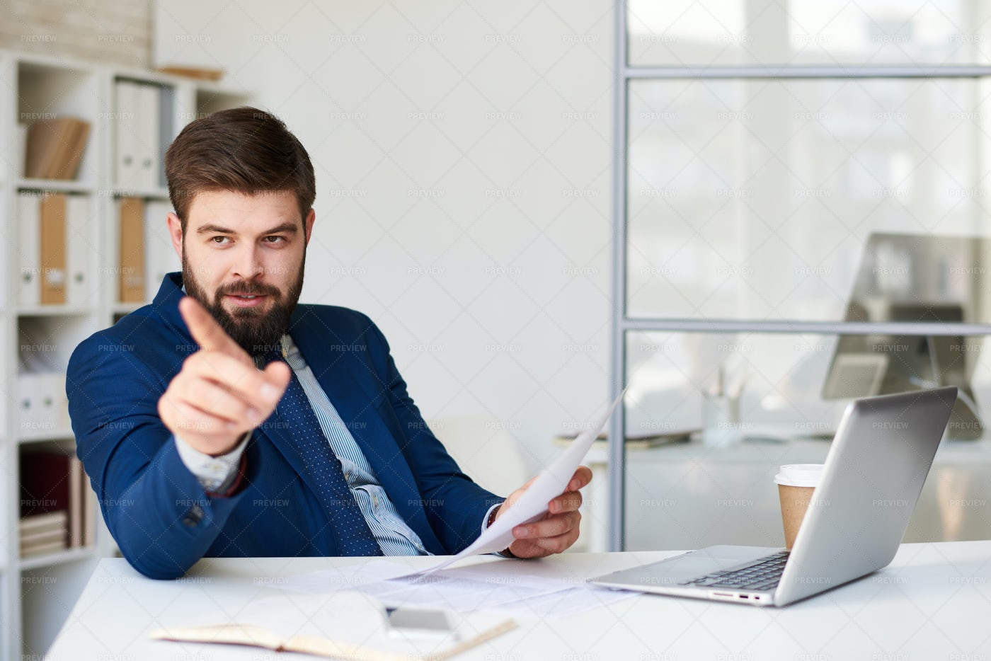 Successful Business Coach: Stock Photos