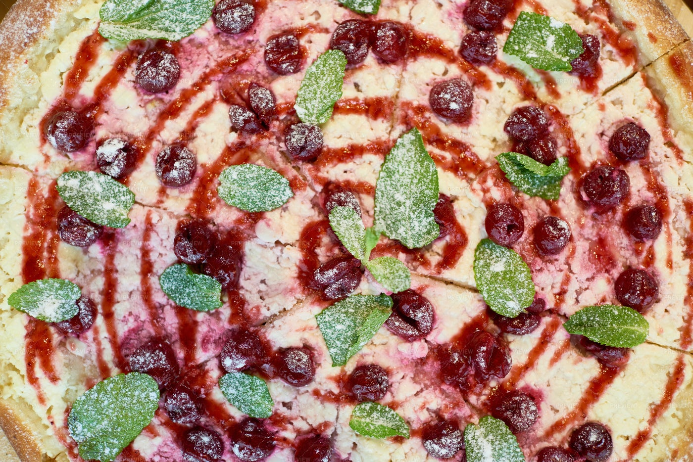 Homemade Berry Pie Background: Stock Photos
