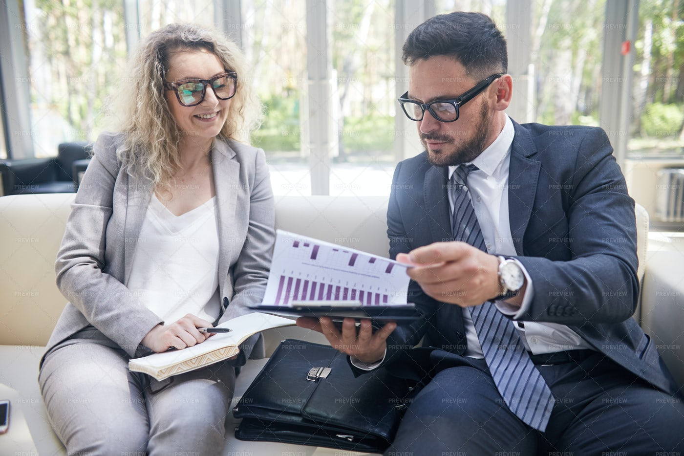 Working Meeting Of Colleagues: Stock Photos