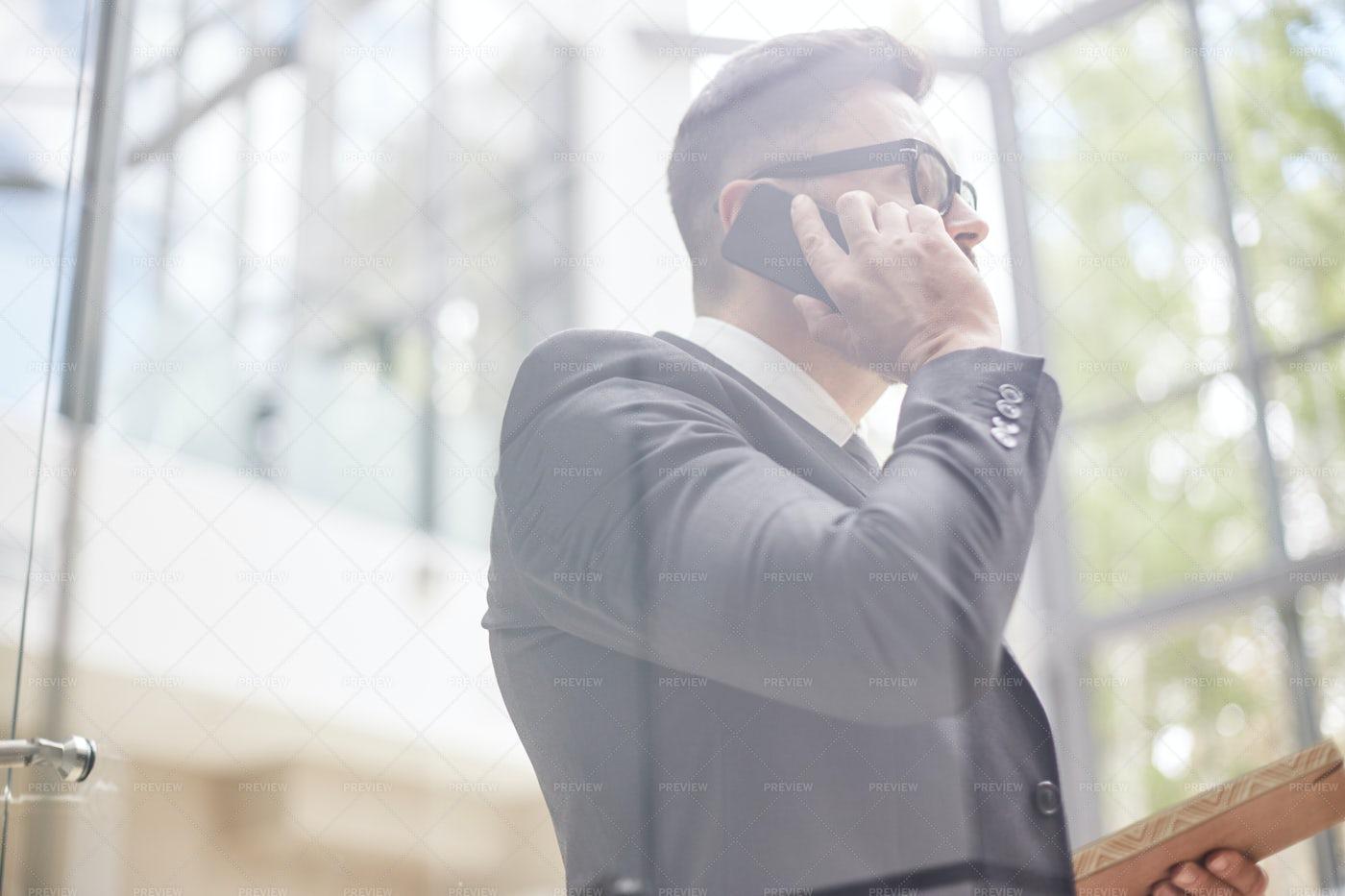 Portrait Of Confident Entrepreneur: Stock Photos