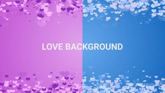 Love background: Motion Graphics