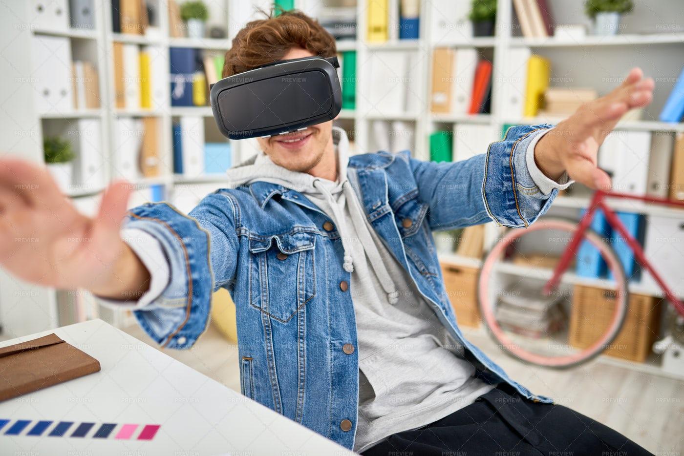 VR Experience: Stock Photos