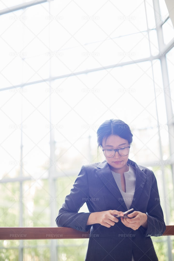 Portrait Of Pretty Asian...: Stock Photos