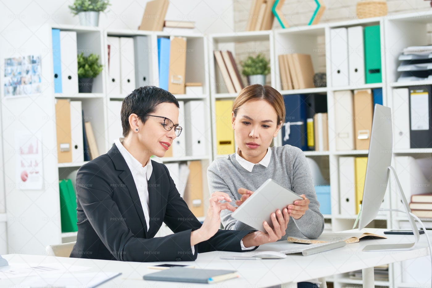 Analyzing Work Results: Stock Photos