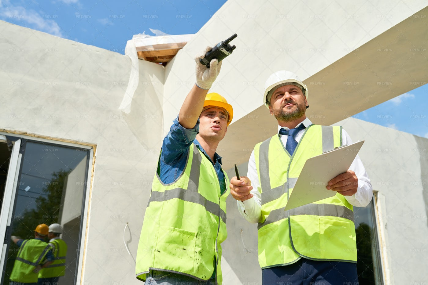 Carrying Out Inspection Of...: Stock Photos