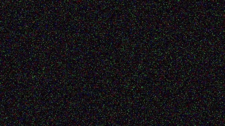 VHS Color Noise: Motion Graphics