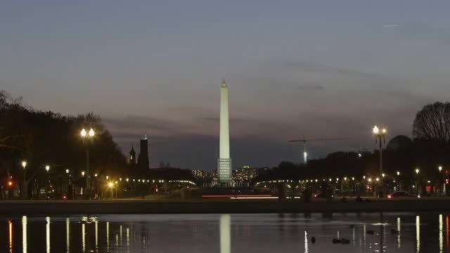 Washington Monument Time-lapse: Stock Video