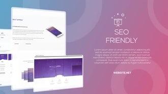 Website Presentation : After Effects Templates