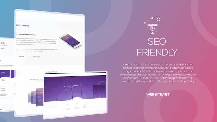 Website Presentation : After Effects Templates