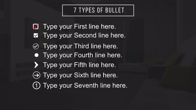 Bullet Essentials: Motion Graphics Templates