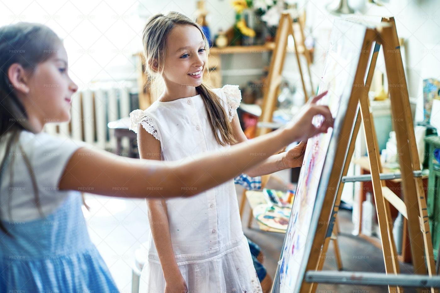 Creating Artwork Together: Stock Photos