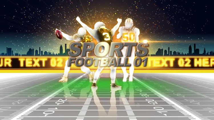 Sports Football: After Effects Templates