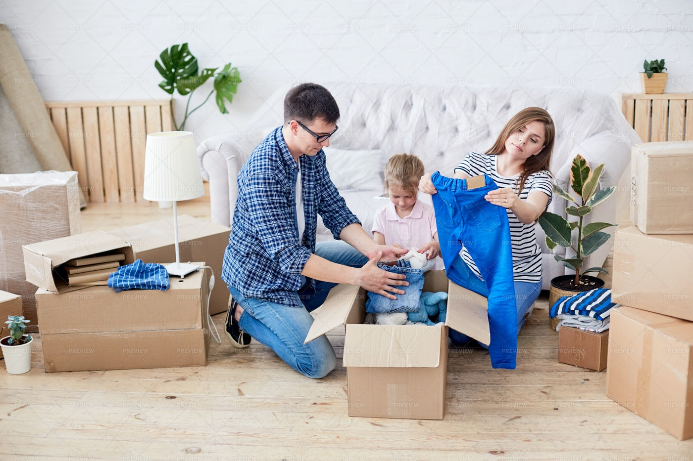 Wrapped Up In Unpacking Stuff: Stock Photos