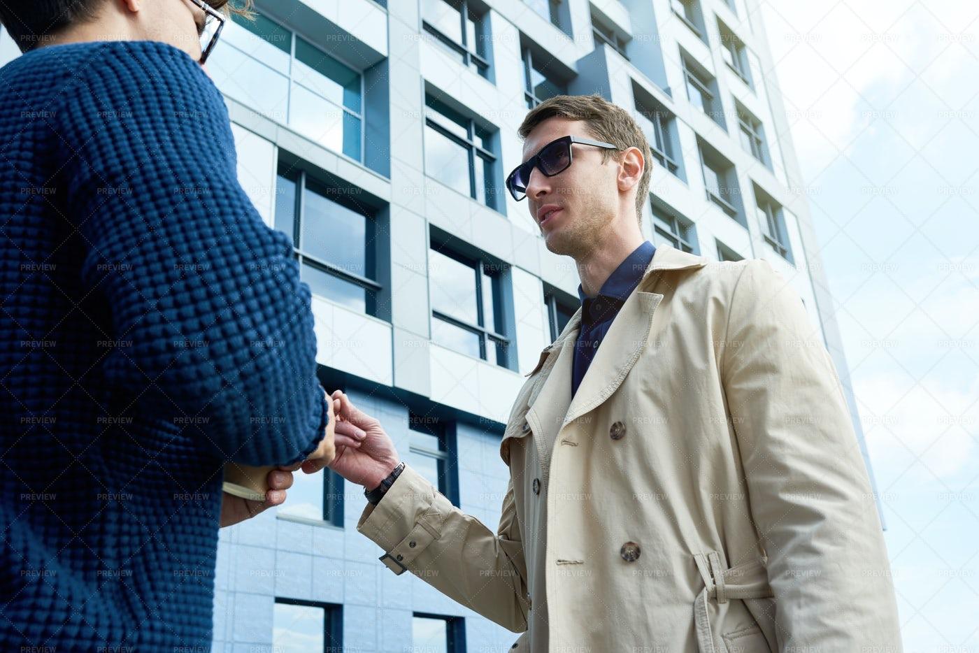Successful Entrepreneur Talking To...: Stock Photos