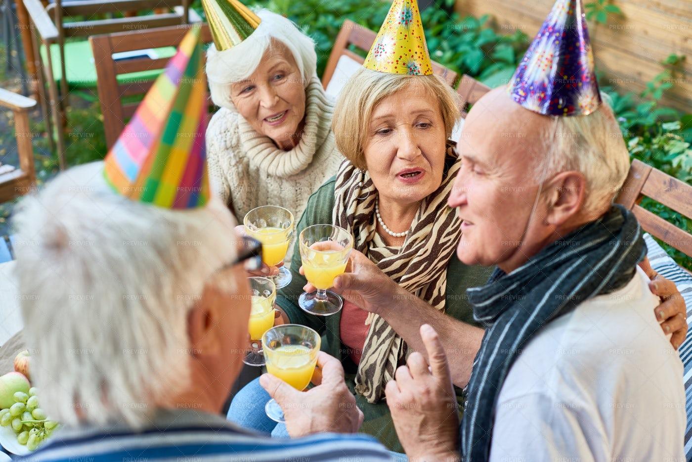 Happy 70th Birthday: Stock Photos