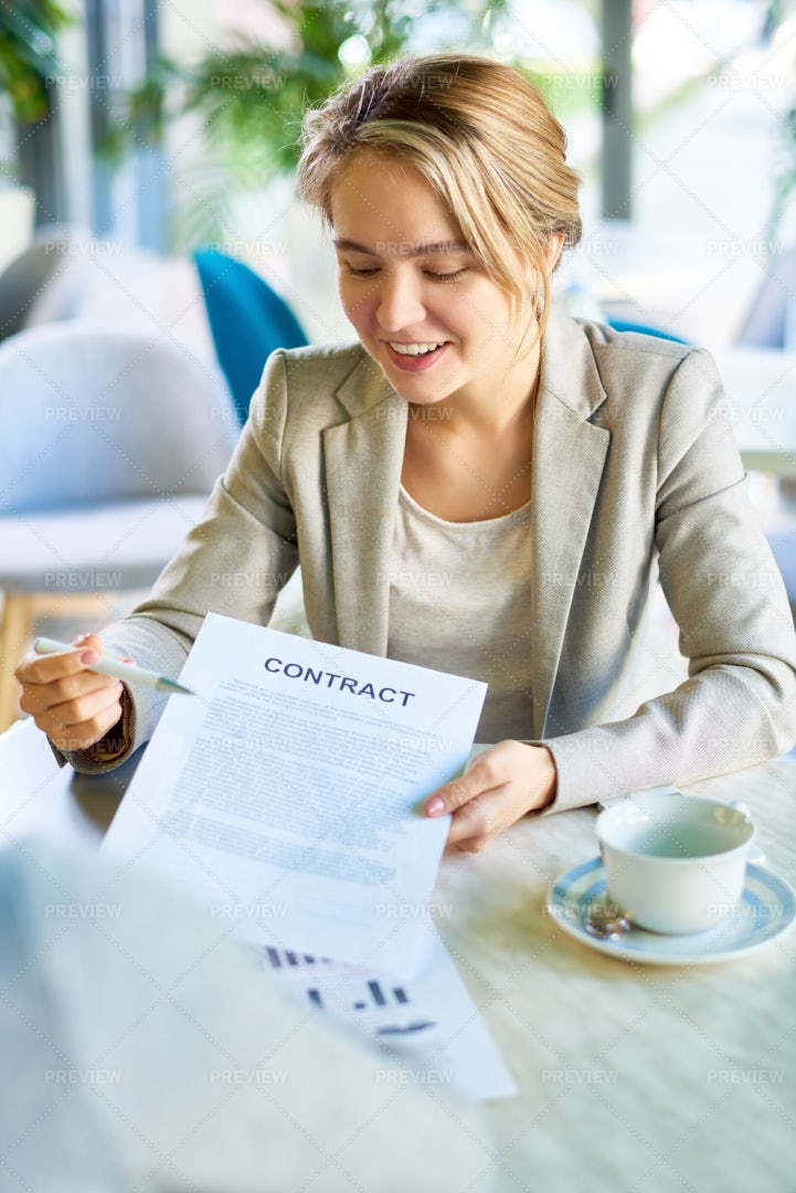 Young  Business Woman Presenting...: Stock Photos