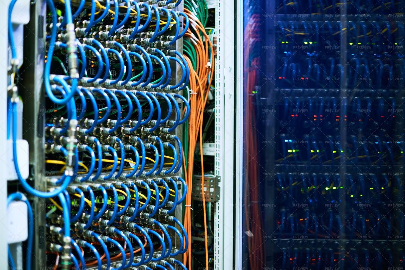 Supercomputer Server: Stock Photos