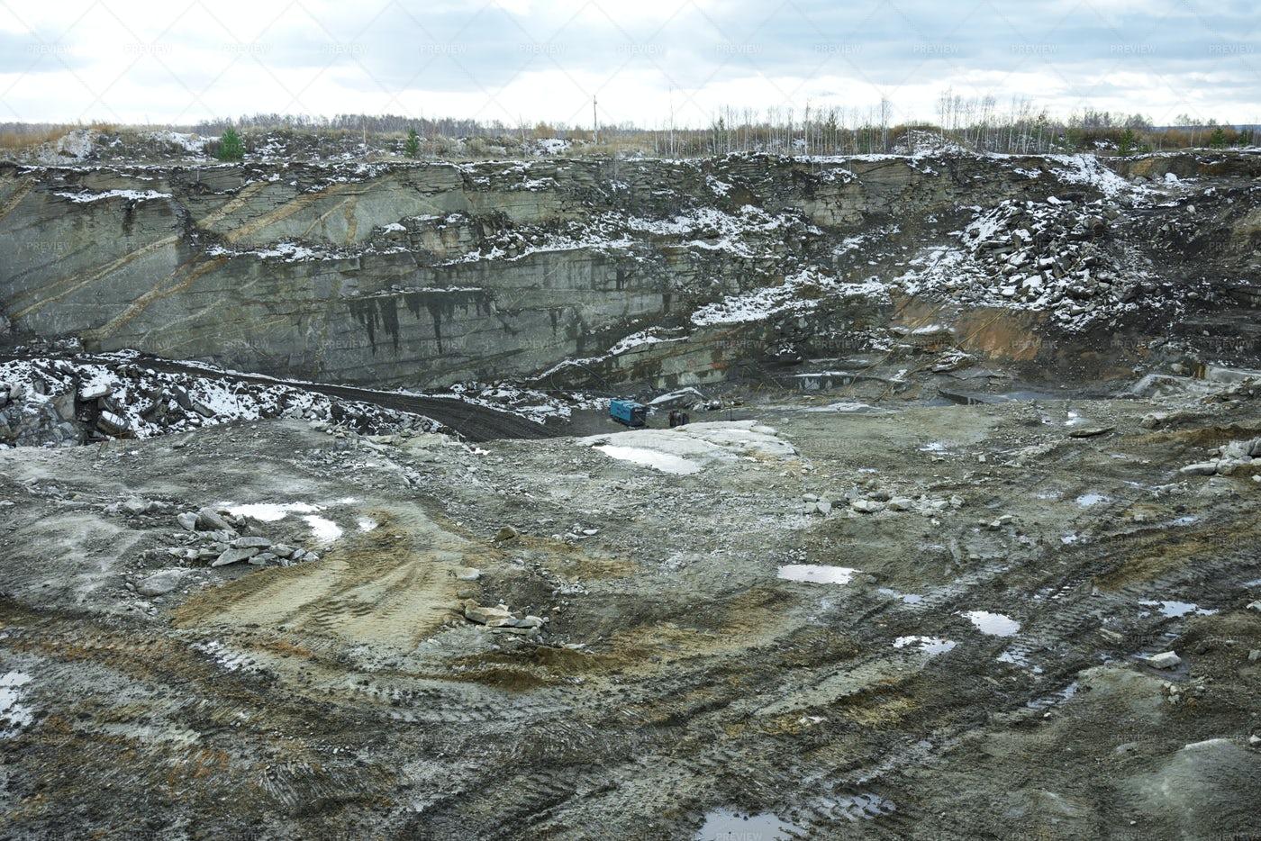 Excavation Site: Stock Photos