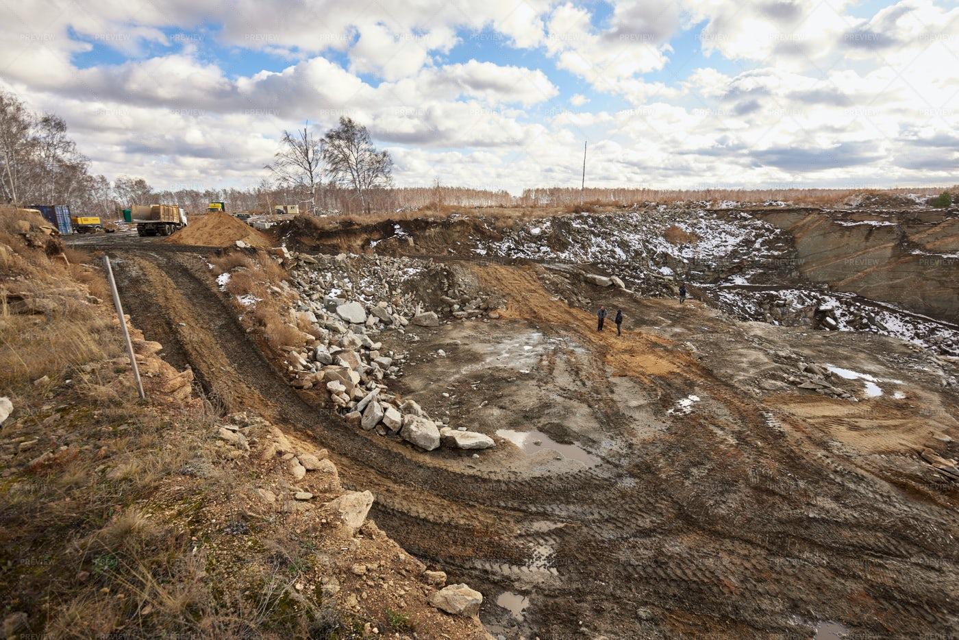 Excavation Mine: Stock Photos