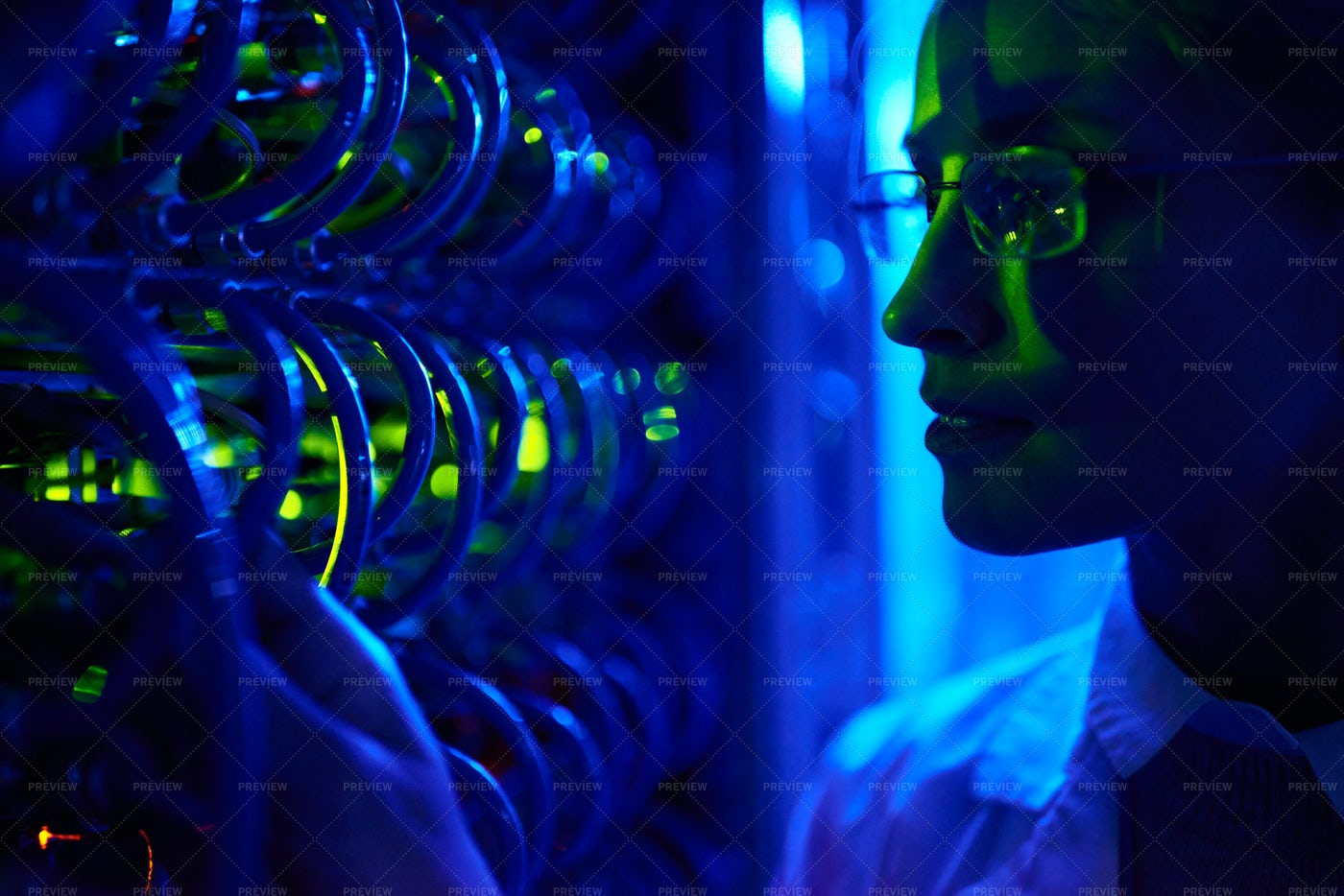 Female Computer Scientist: Stock Photos