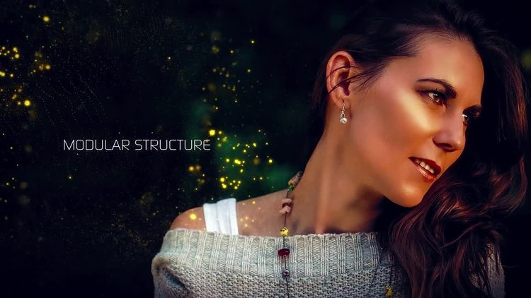Particles Slideshow: After Effects Templates