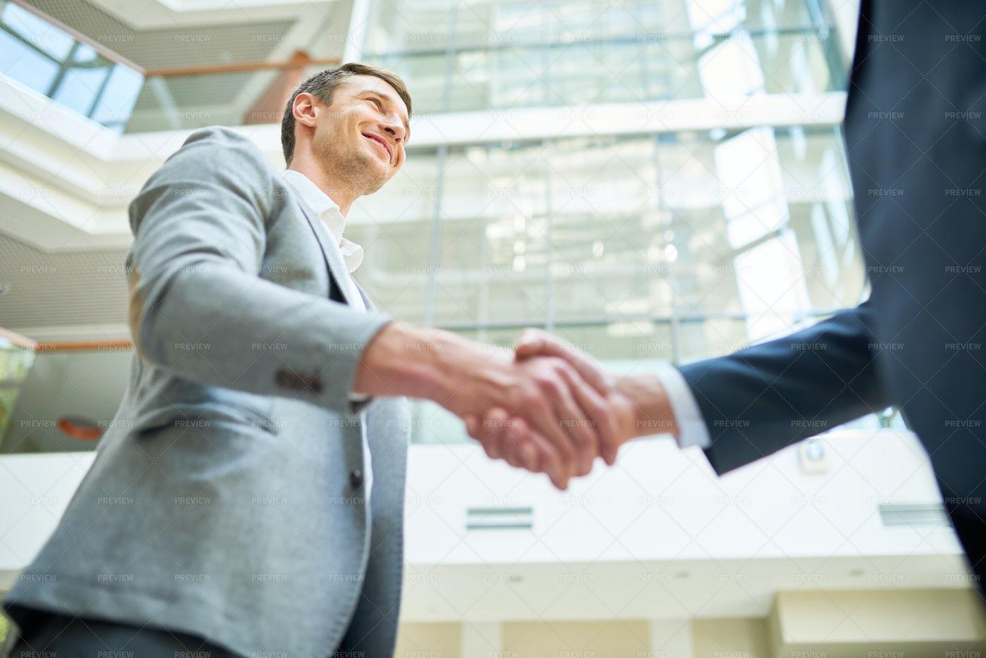 Successful Business Deal: Stock Photos