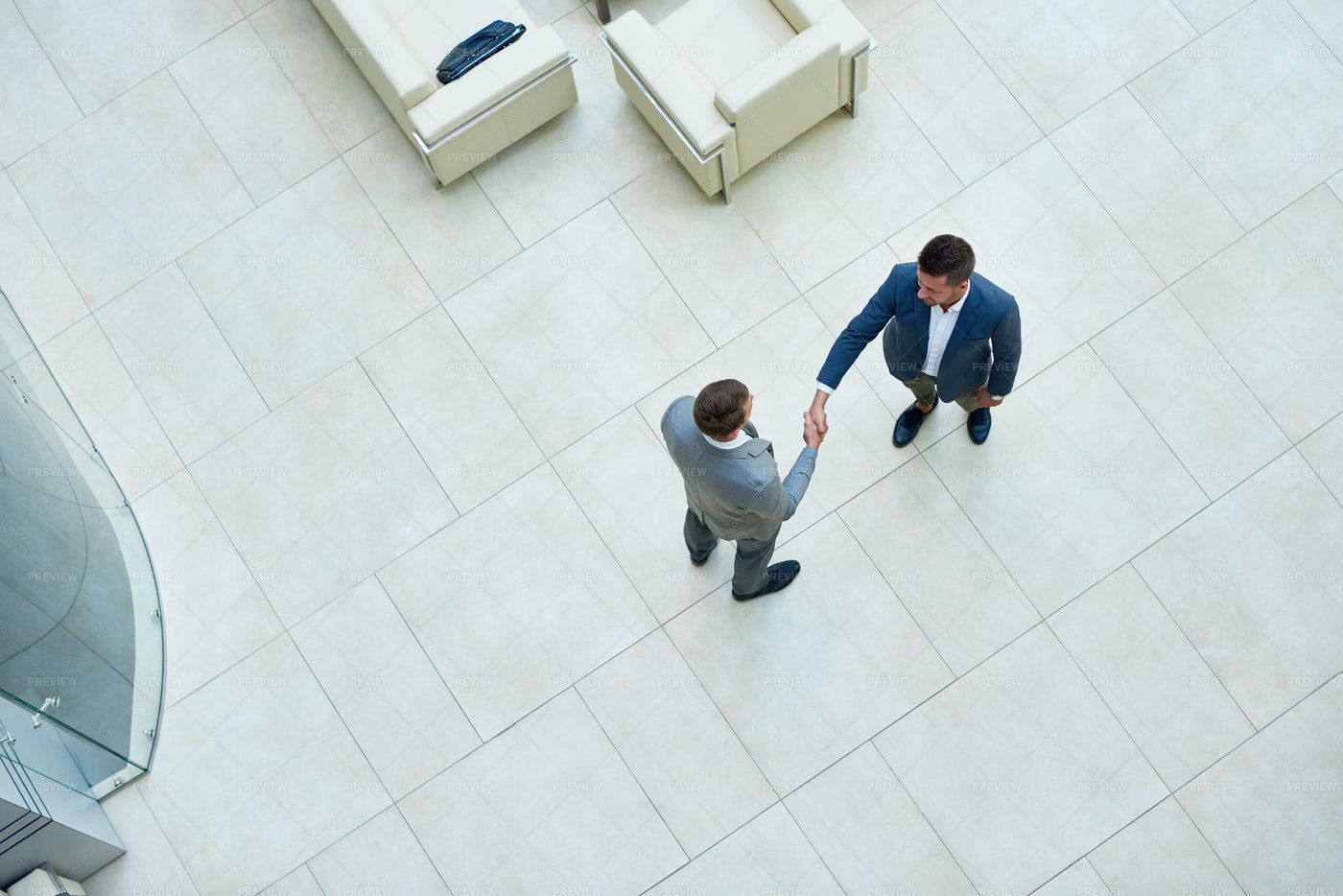 Successful Negotiations Of Business...: Stock Photos