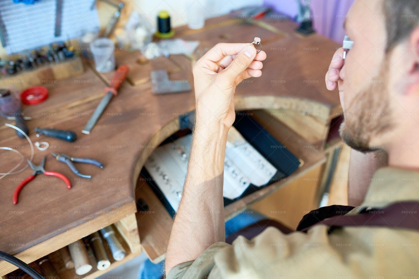 Jewelry Appraiser: Stock Photos