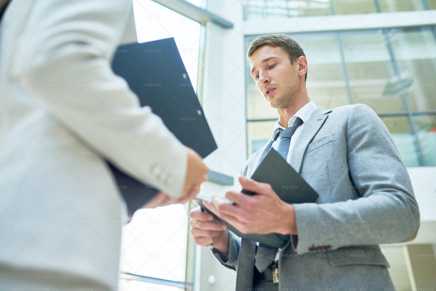Informal Working Meeting: Stock Photos