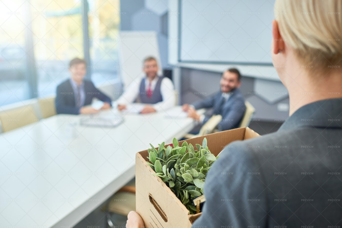 Candidate For Job Interview: Stock Photos
