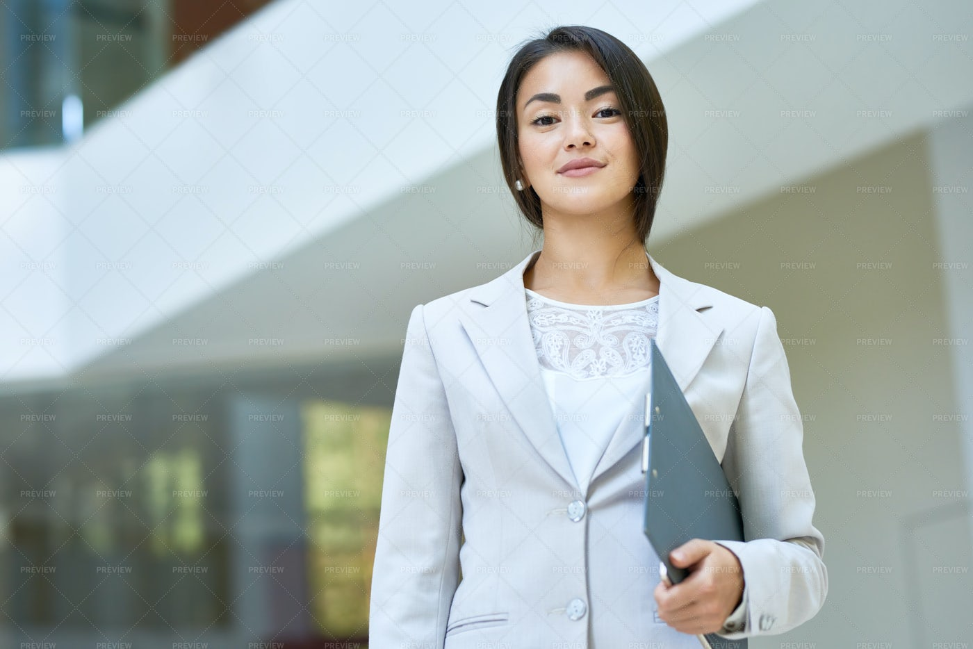 Portrait Of Confident Young Manager: Stock Photos