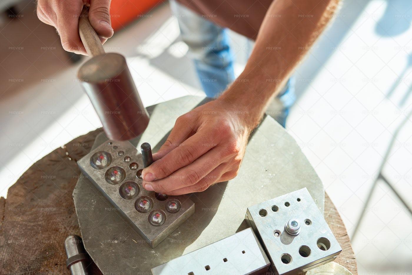Metalworking Close Up: Stock Photos