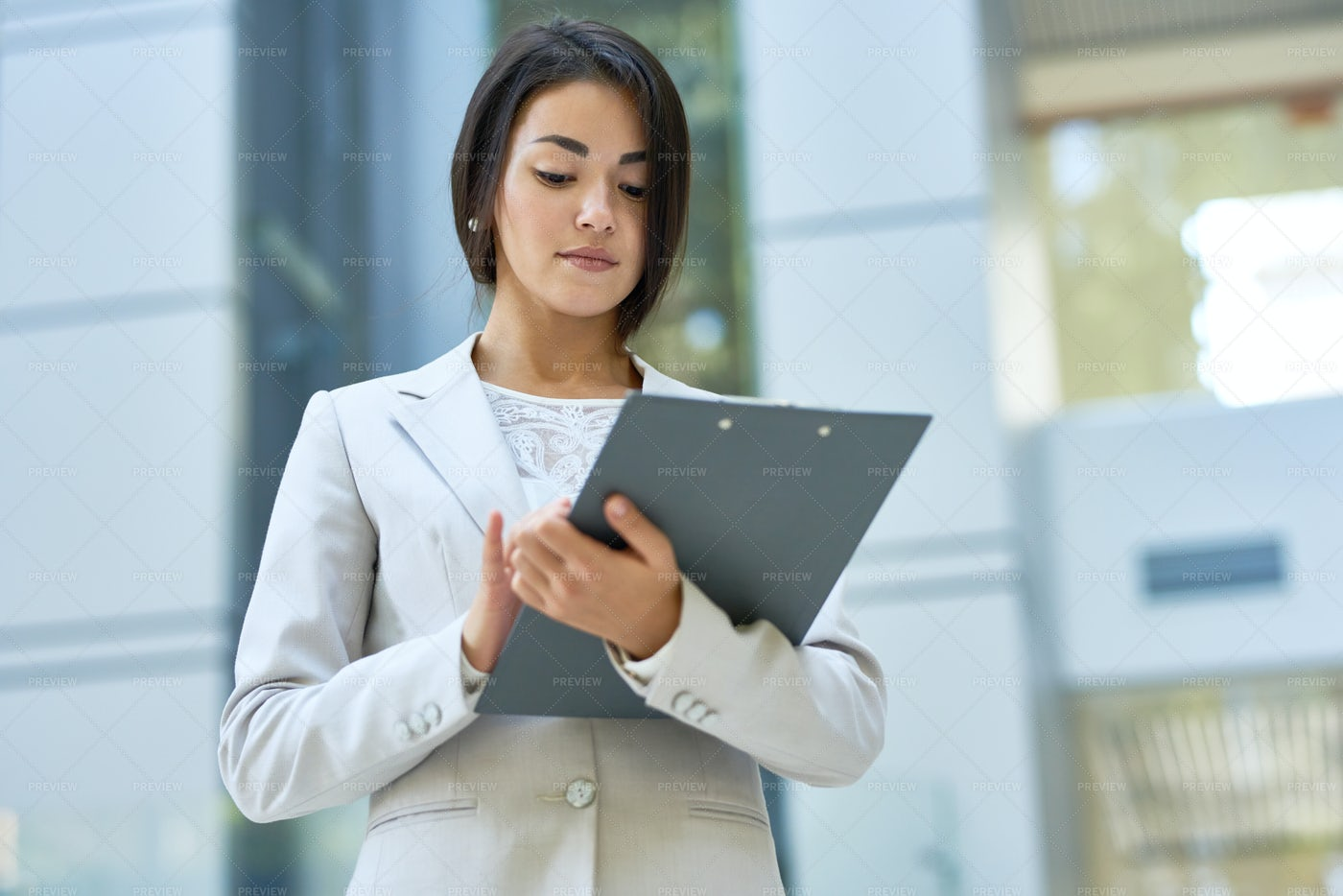 Successful Young Business Woman: Stock Photos
